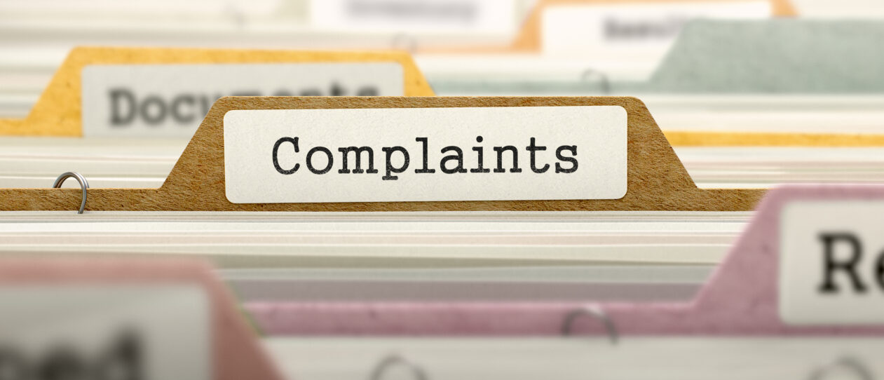 Complaints Policy Update